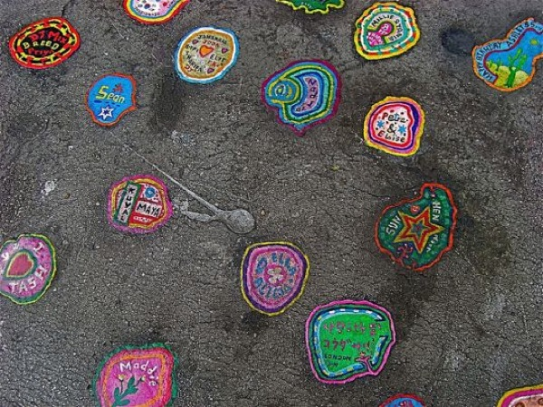 Chewing Gum Art by Ben Wilson