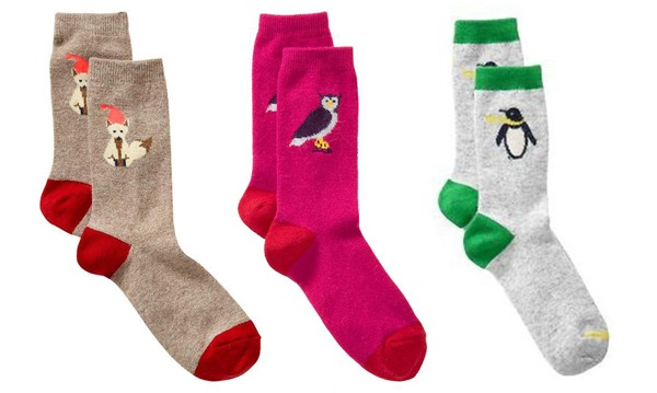 Gap animal socks