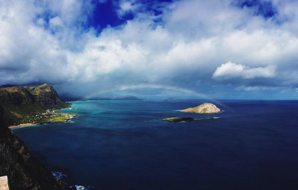 Aesthetics of joy hawaii rainbow