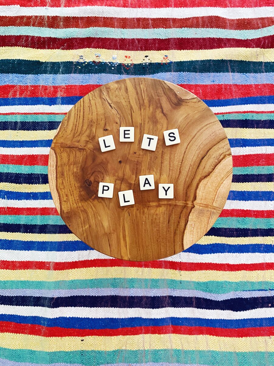 Games are a simple way to bring play into your days! This list of 15 games from The Aesthetics of Joy provides inspiration for couples, families, and your next gathering.