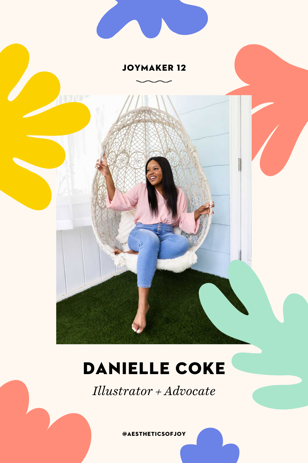 Danielle Coke is an illustrator and advocate who uses art and words to make complex issues easier to understand. In this Joymaker interview, she explains the difference between hope and optimism and reveals how she stays joyful in hard times.